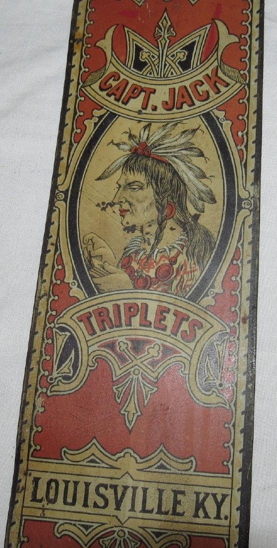 Musselman & Co. Capt Jack Triplets Tobacco Indian Sign - 5