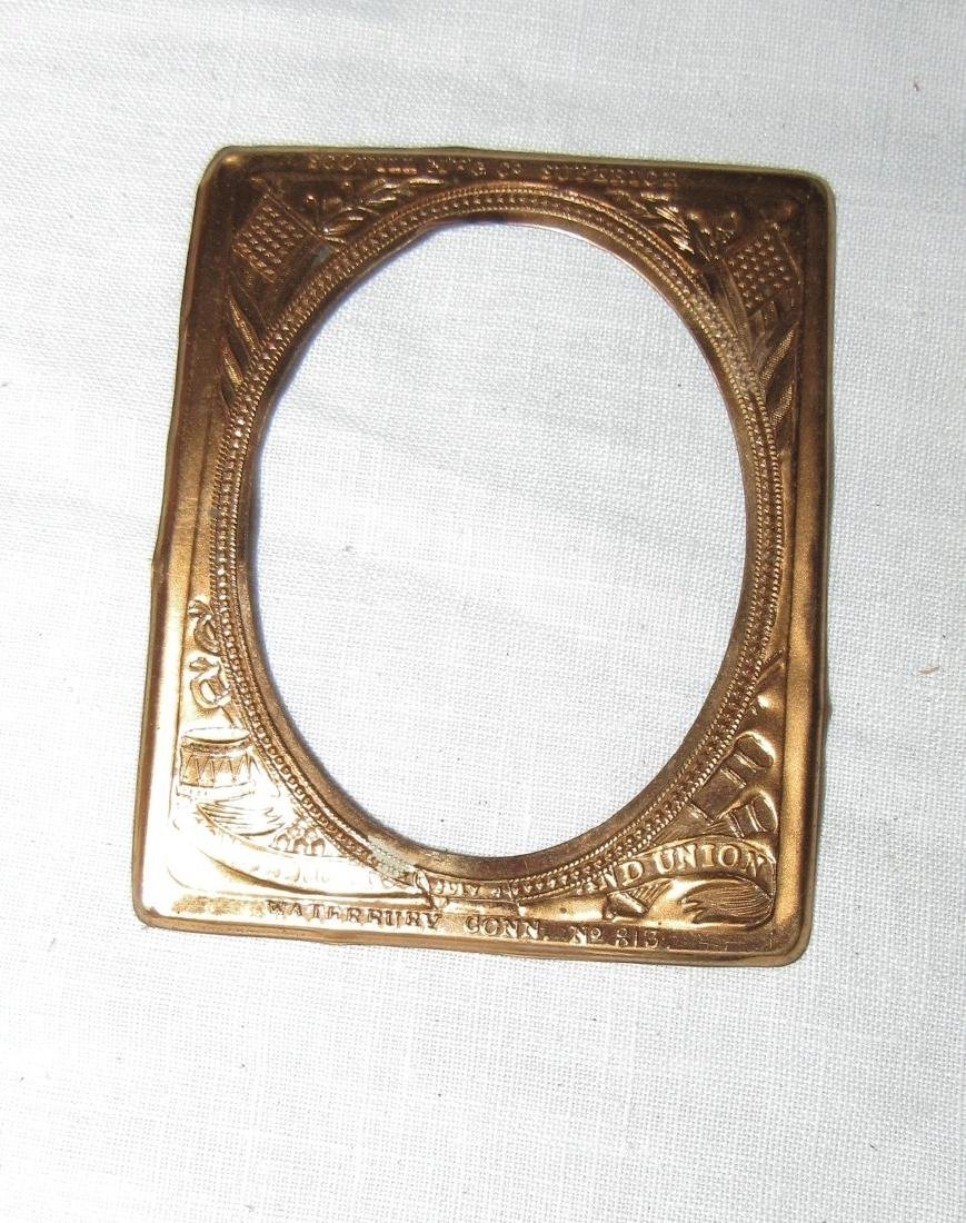 Burl Wood Box Compact & Daguerreotype Frame - 4