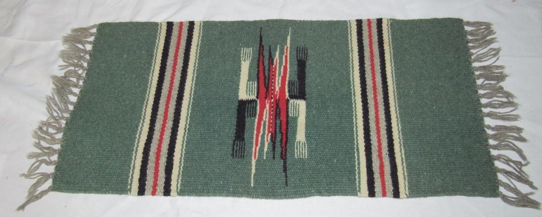 Miniature Indian Rug / Blanket