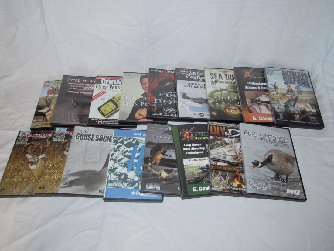 17 Goose Duck Deer Hunting DVD's