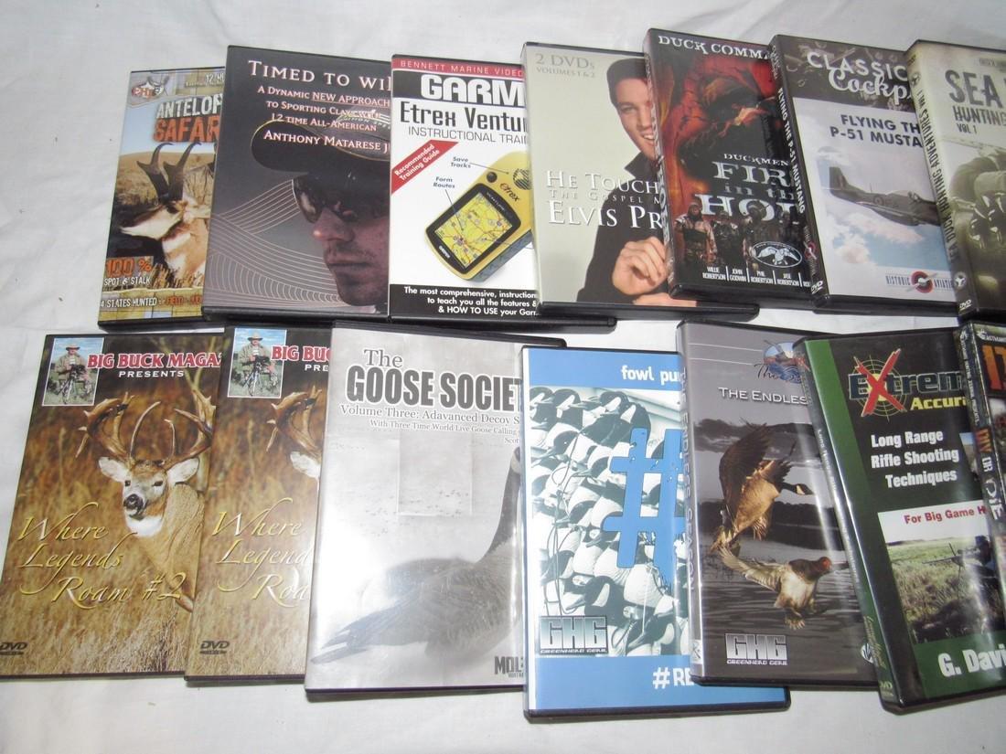17 Goose Duck Deer Hunting DVD's - 2