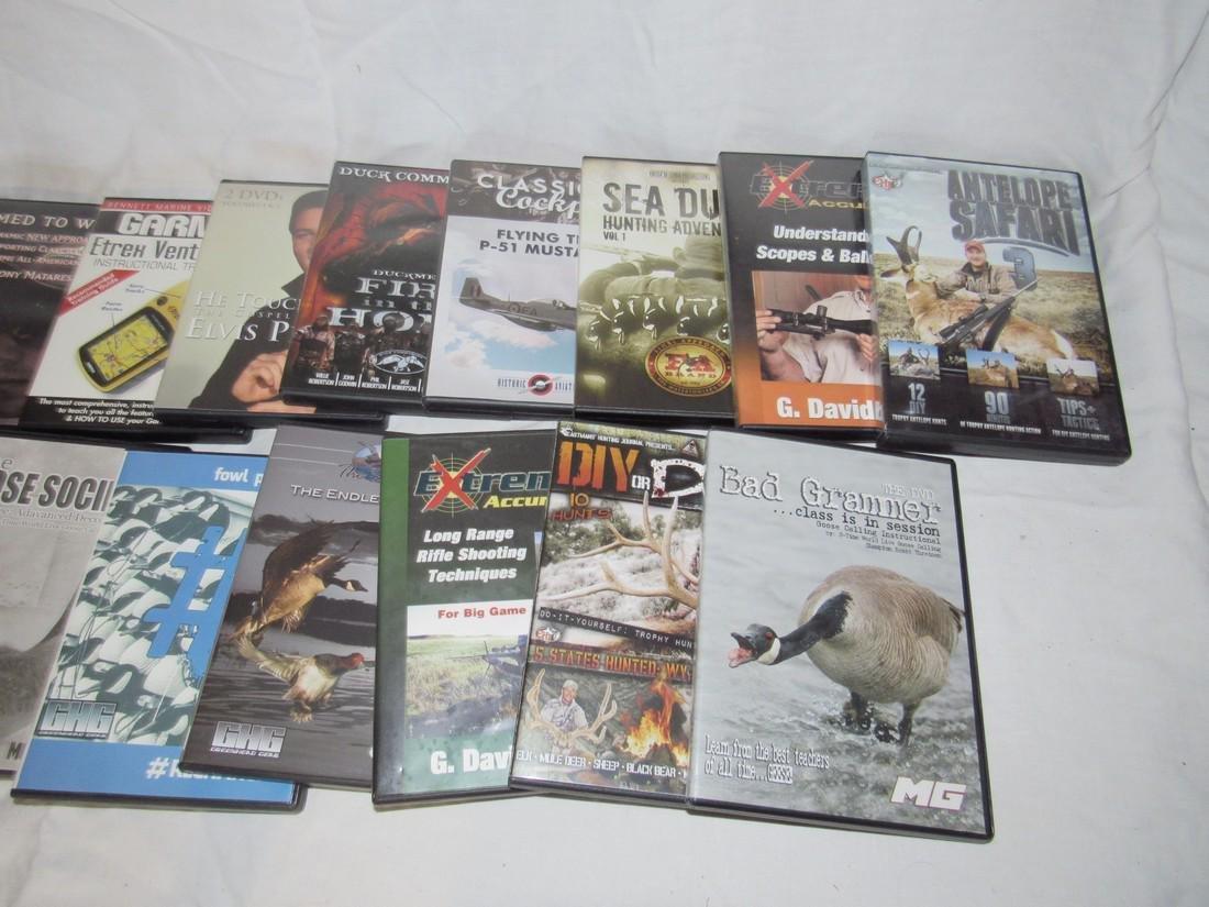 17 Goose Duck Deer Hunting DVD's - 3