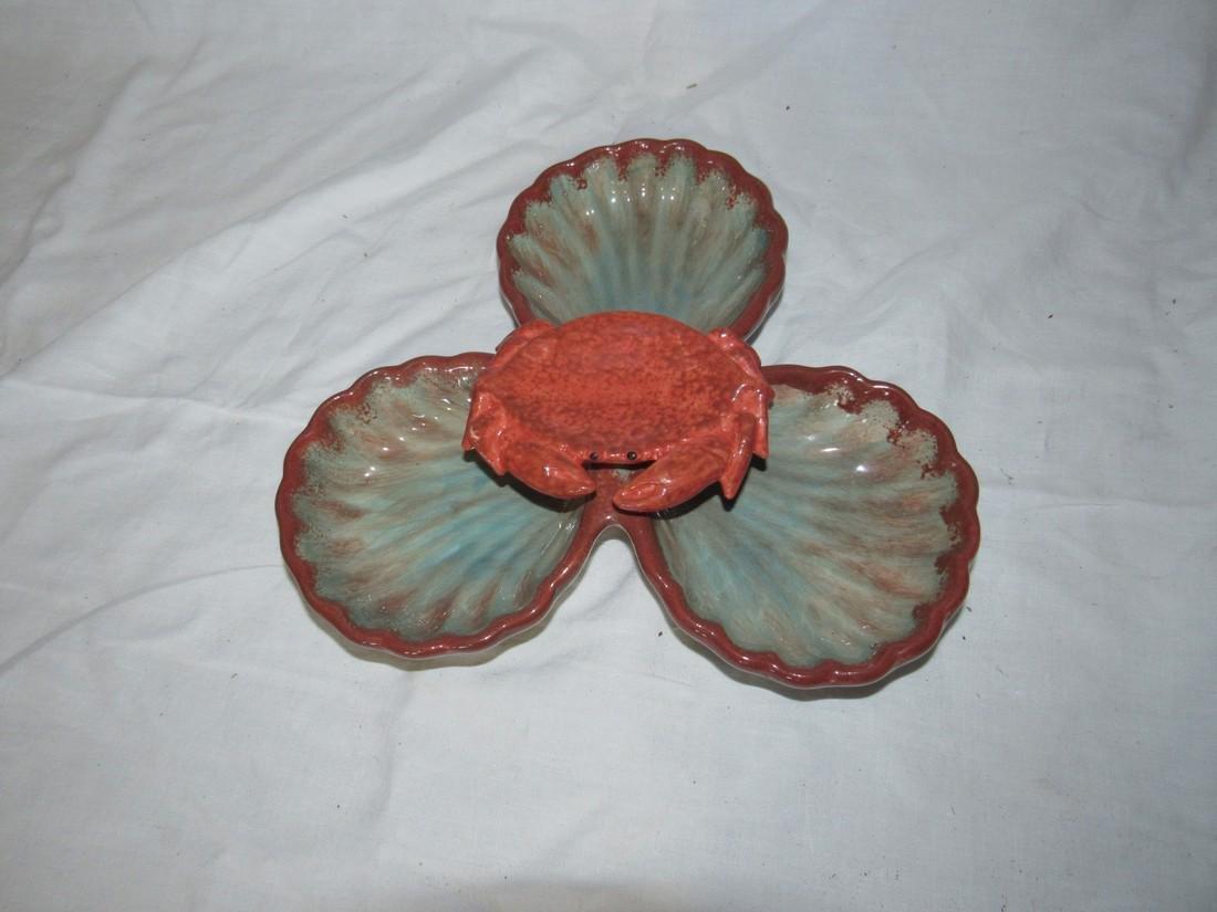 California Pottery Crab Tray