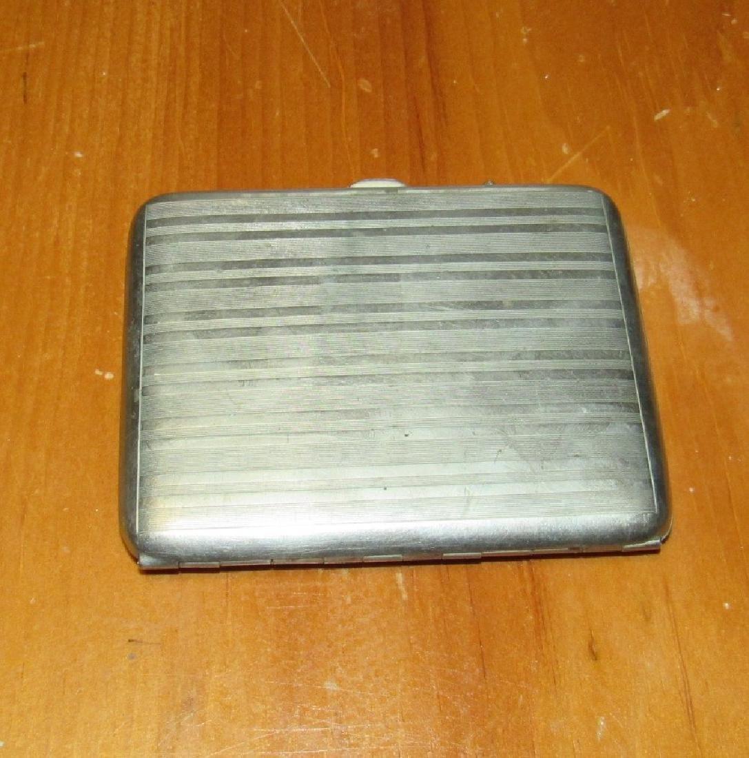 Nickel Silver Klever Kase Cigarette Case