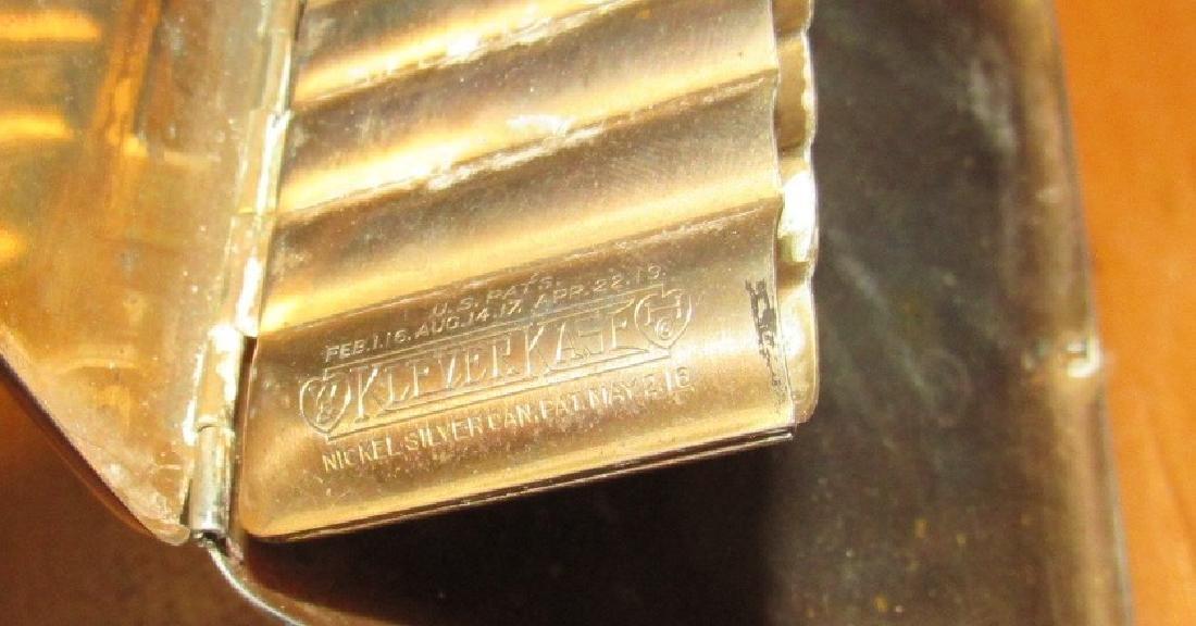 Nickel Silver Klever Kase Cigarette Case - 4