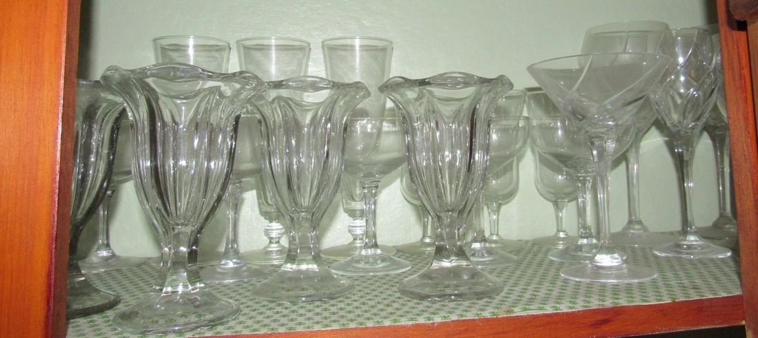 Lot of Glassware - 2