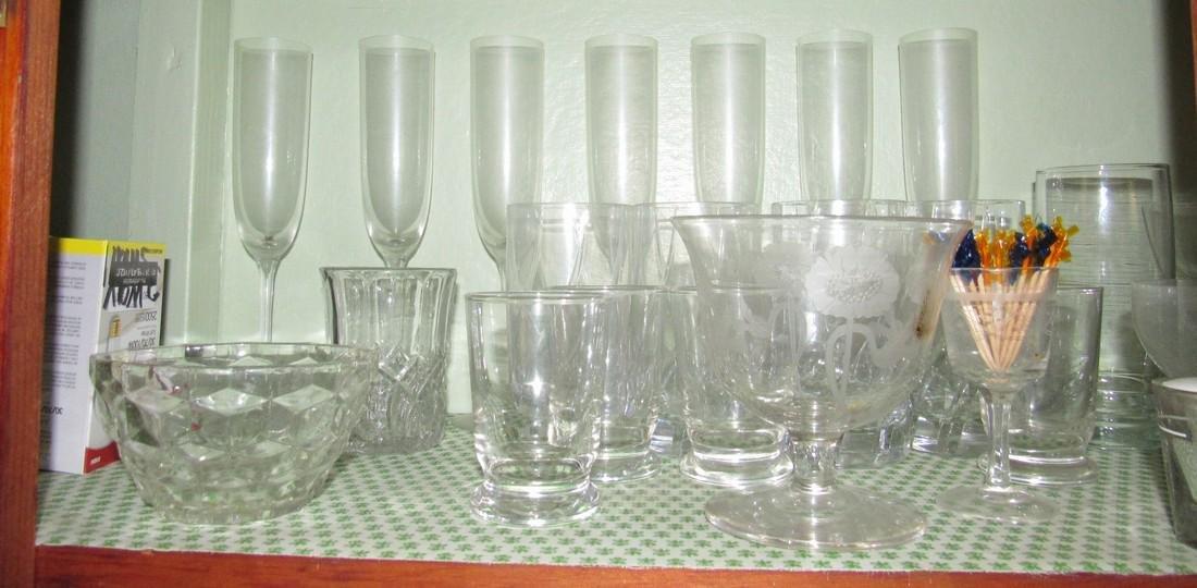 Lot of Glassware - 4