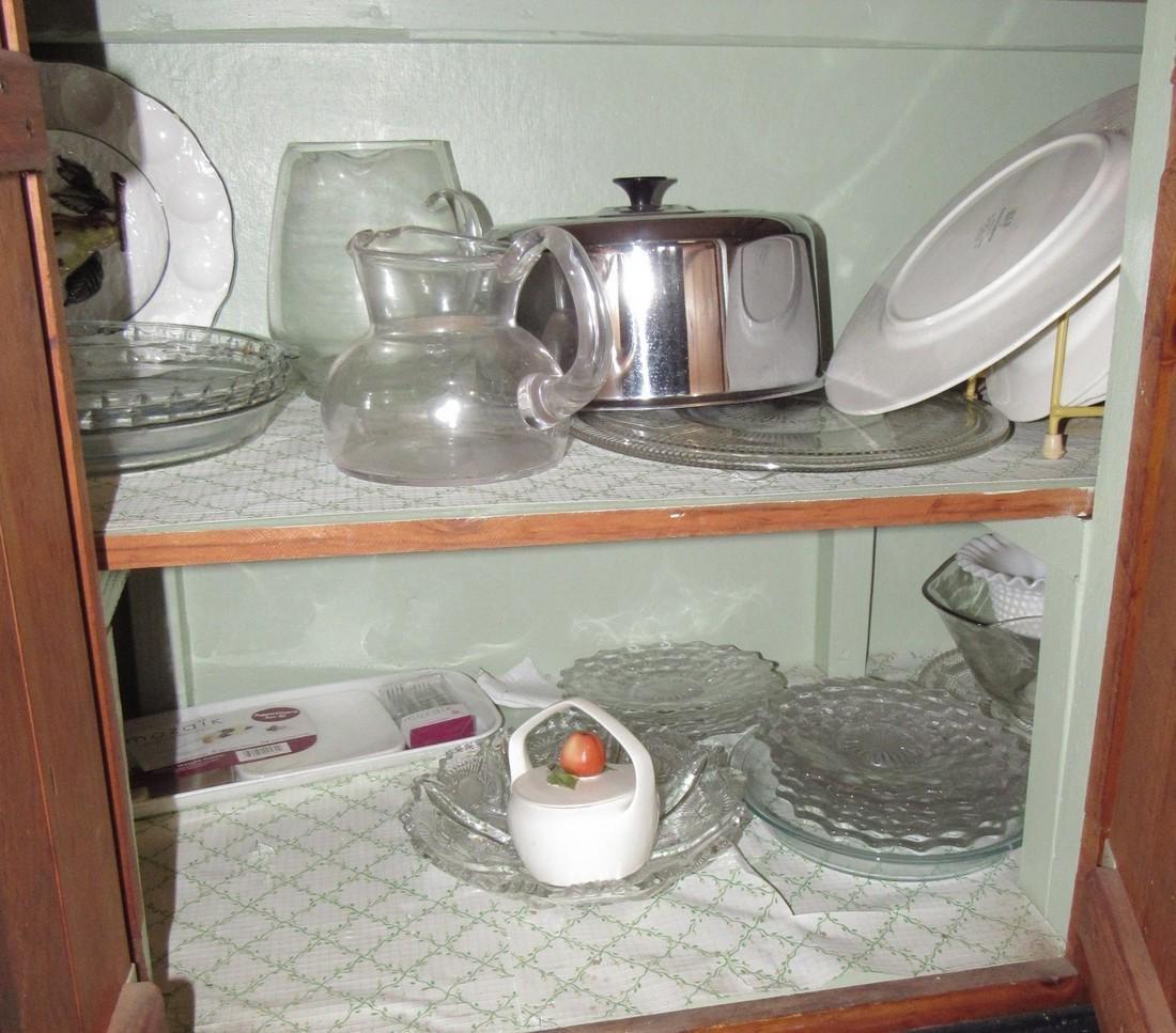 Mikasa Dinnerware & Cabinet Contents - 3