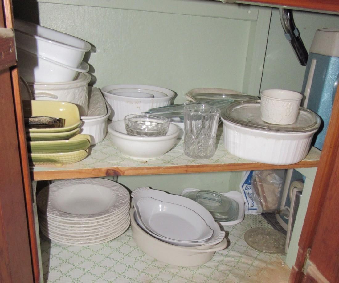 Mikasa Dinnerware & Cabinet Contents - 5