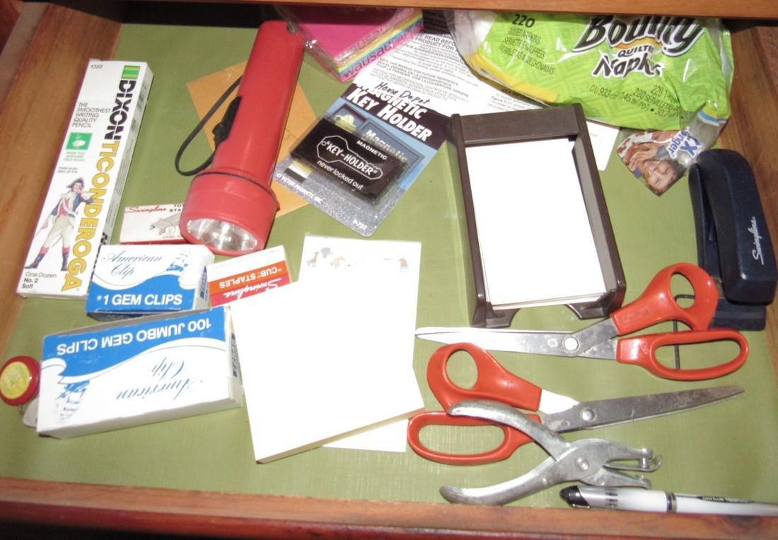 Mikasa Dinnerware & Cabinet Contents - 6