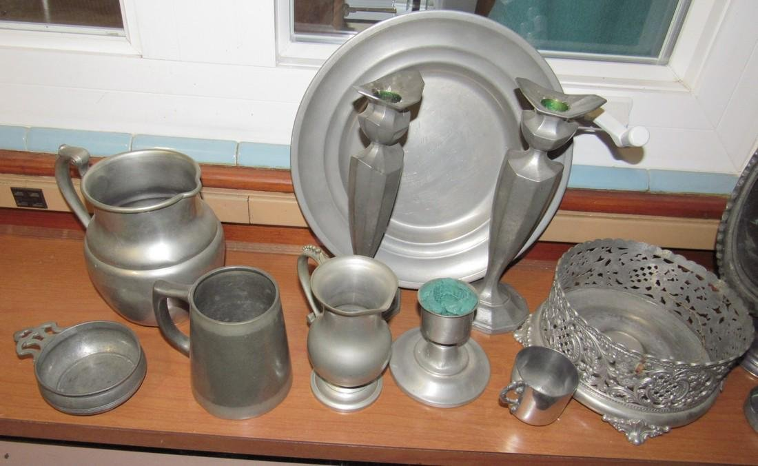 Pewter Silverplate & Misc - 2