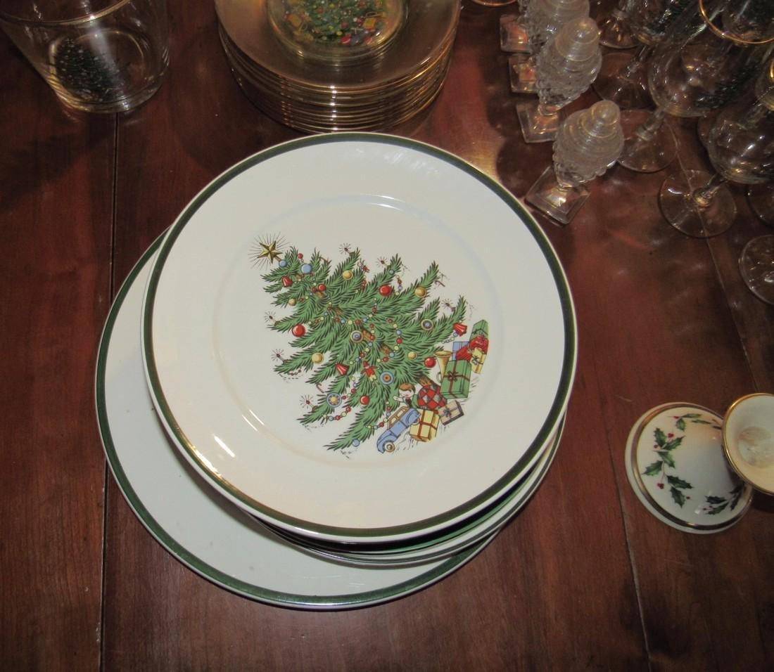 Cuthbertson Christmas Dinnerware Lenox Candle Sticks - 5