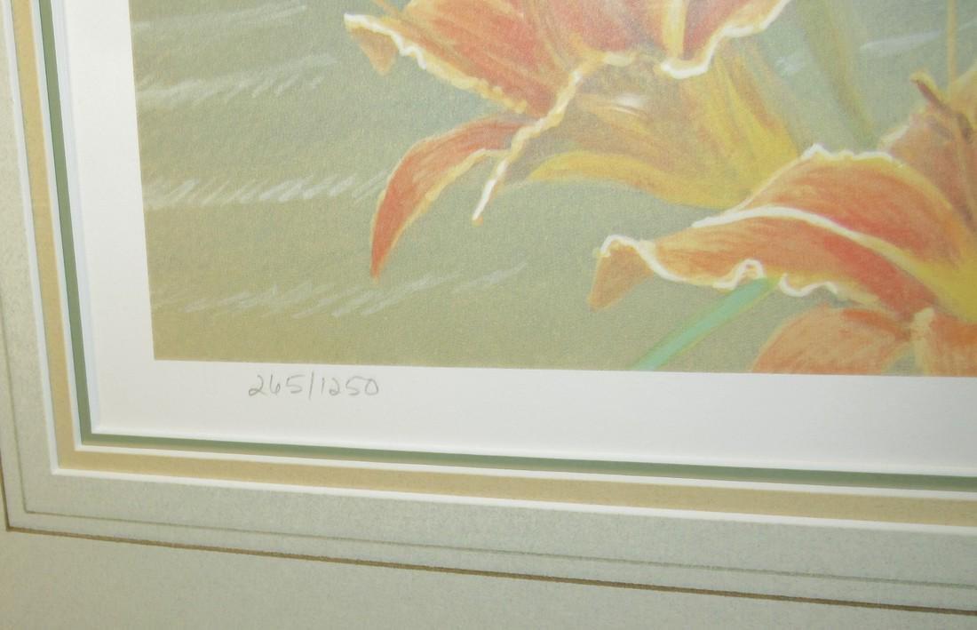 Robert Bateman Signed & Numbered Flower Print - 3