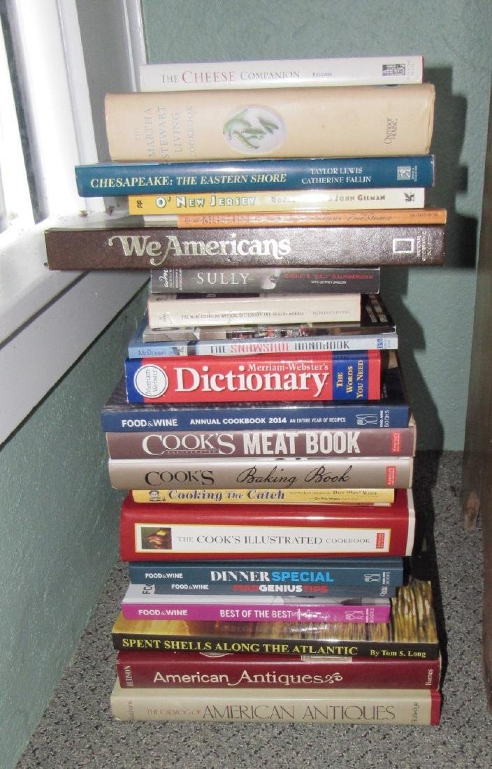 Antique Reference & Cook Books