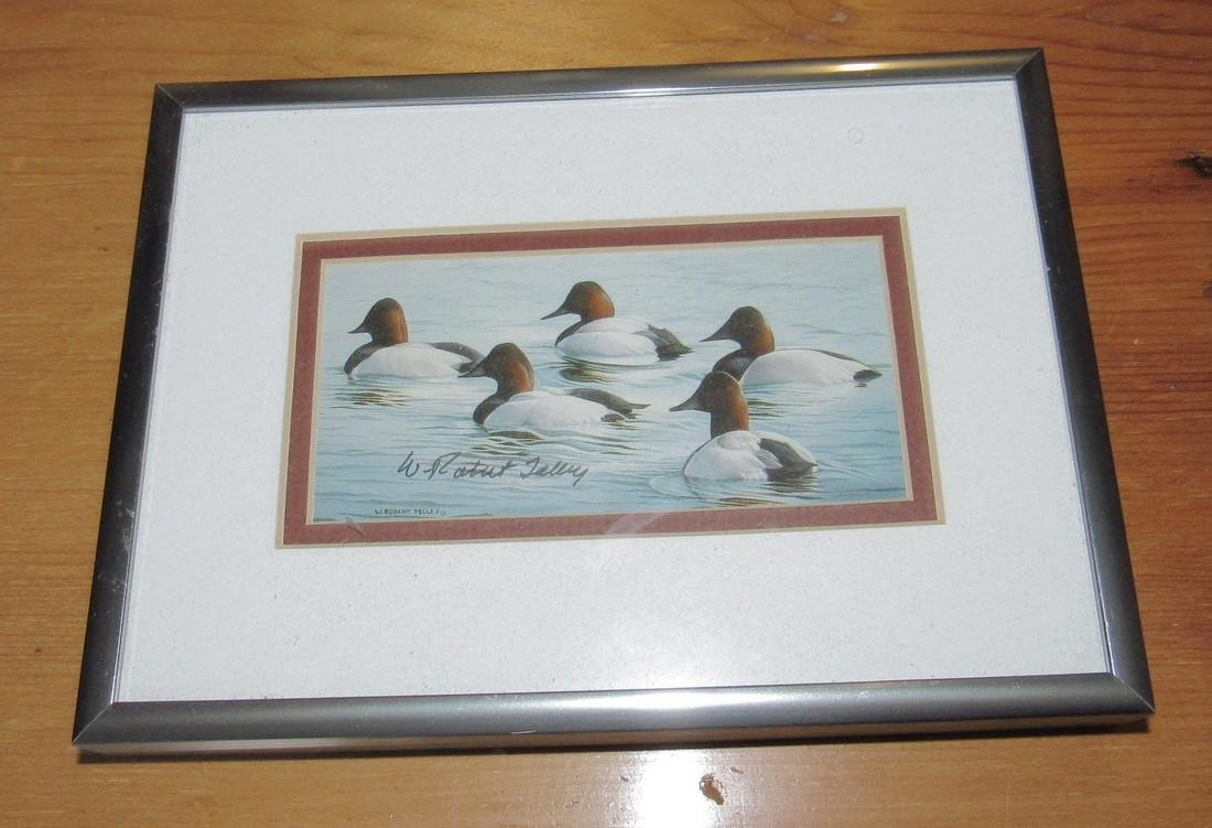 Robert Tolley Signed Duck Print