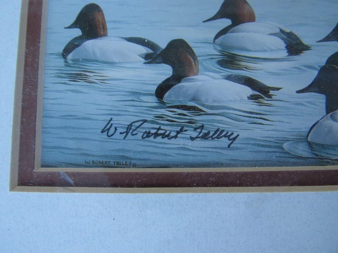 Robert Tolley Signed Duck Print - 3