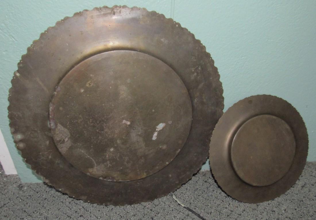 Brass Platters - 3