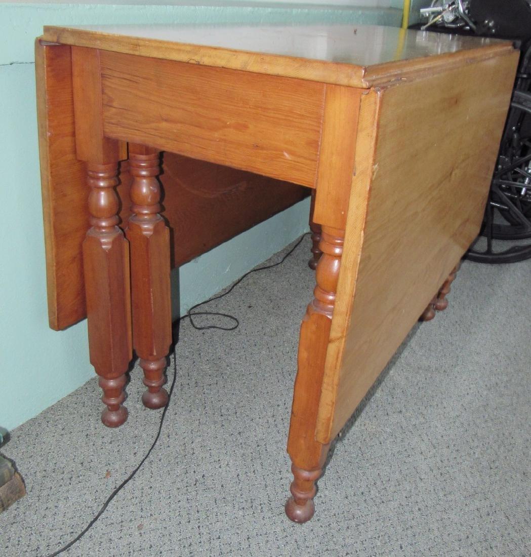 Gate Leg Drop Leaf Table - 2