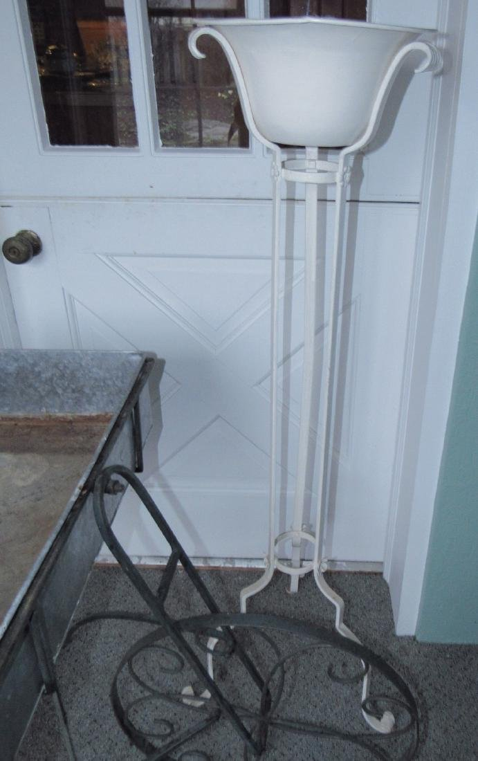 Flower Cart Galvanized Bucket & Planter - 3
