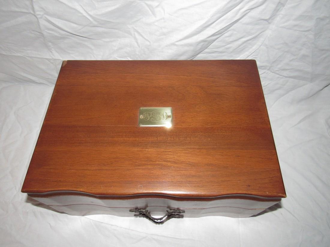 Rogers & Misc Silverplate Flatware w/ Bixlers Box - 5