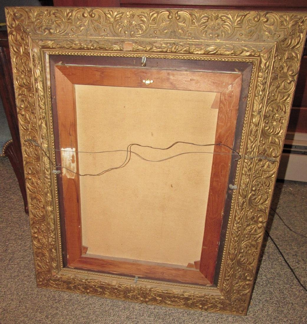 Mrs PJ Paul 1927 Oil On Canvas Painting - 3