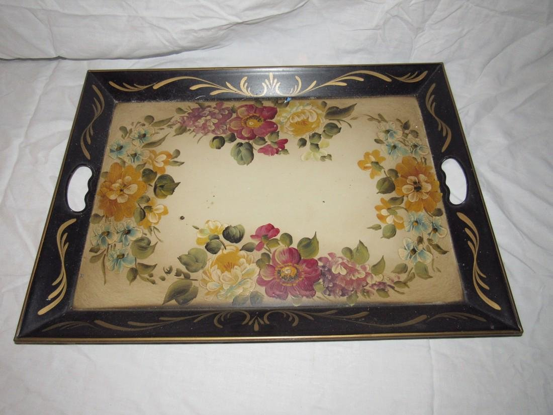 Nashco Hand Painted Tray