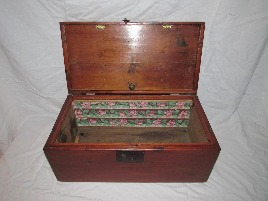 Wood Chest / Art Box - 3