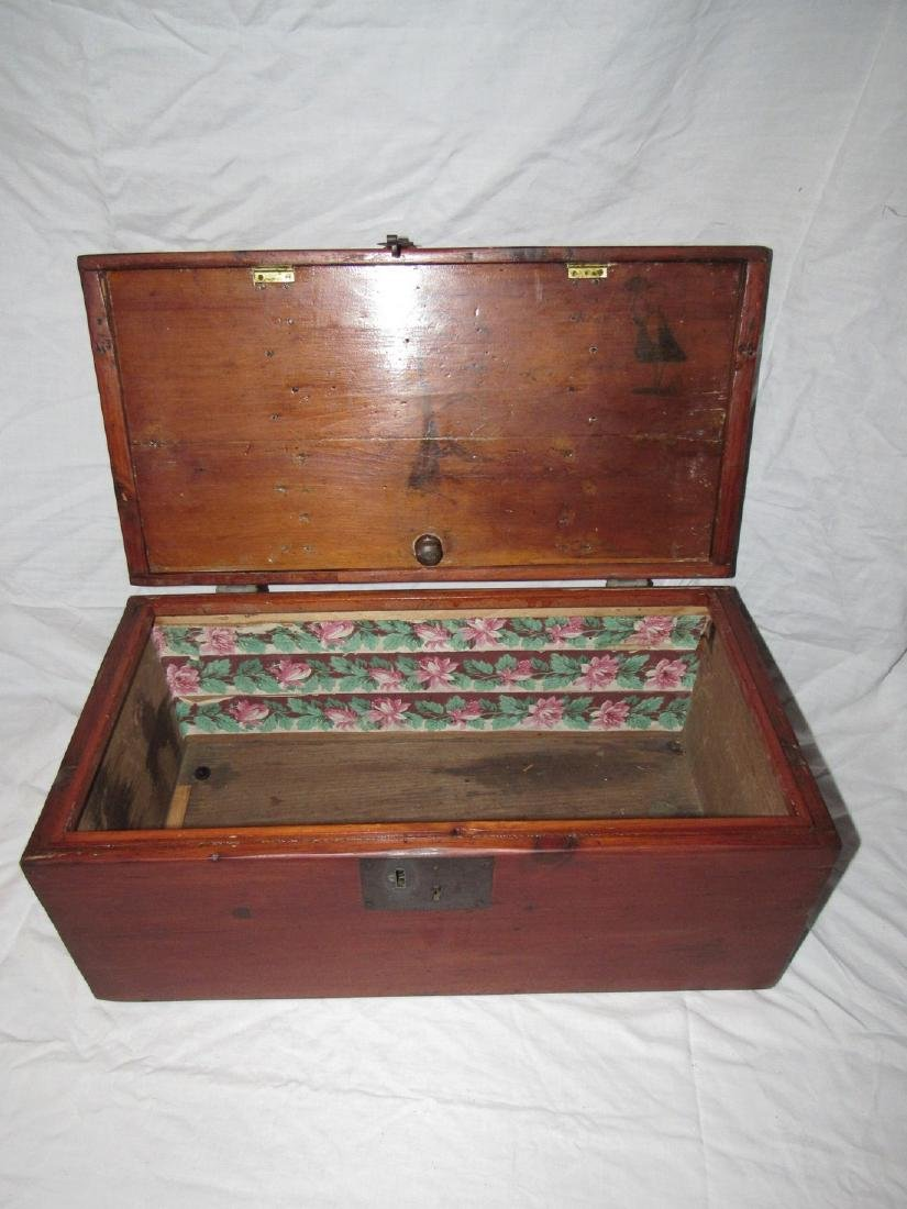 Wood Chest / Art Box - 4