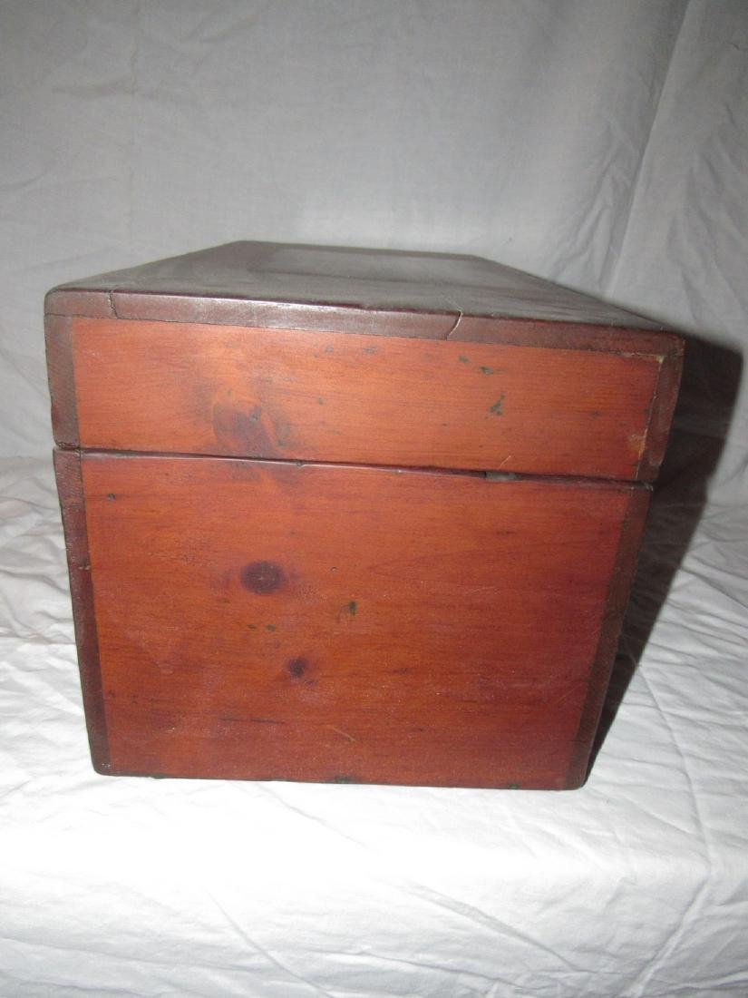 Wood Chest / Art Box - 7