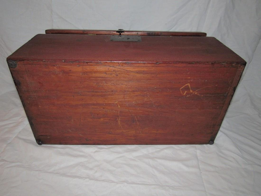 Wood Chest / Art Box - 8