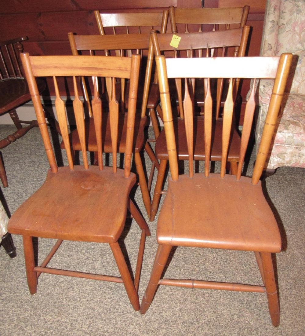 Set of 4 Plank Chairs