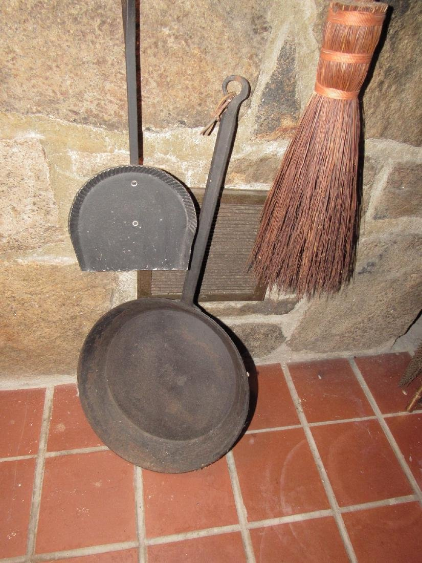 Fireplace Tools Skillet Slotted Ladle - 2