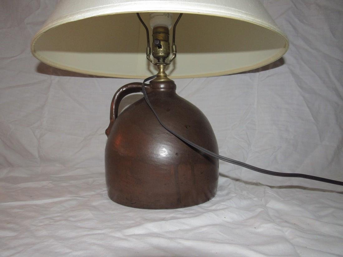 Stoneware Jug Lamp - 2