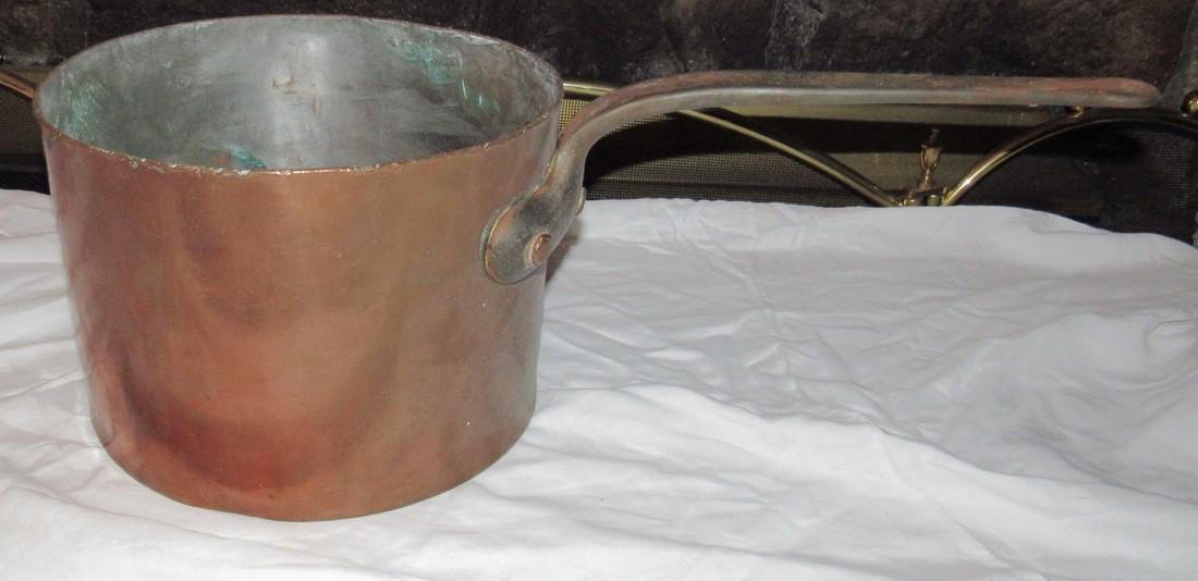 Heavy Copper Pot