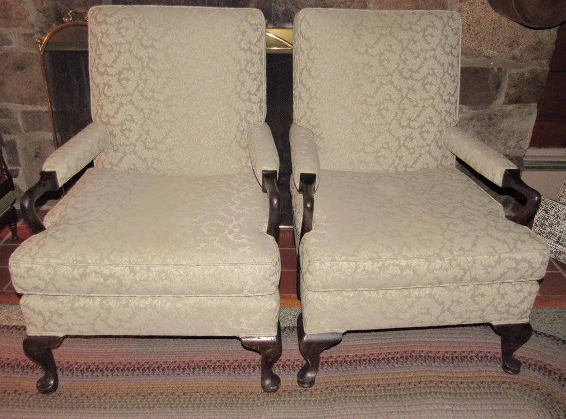 Pair of 2 Arm Chairs