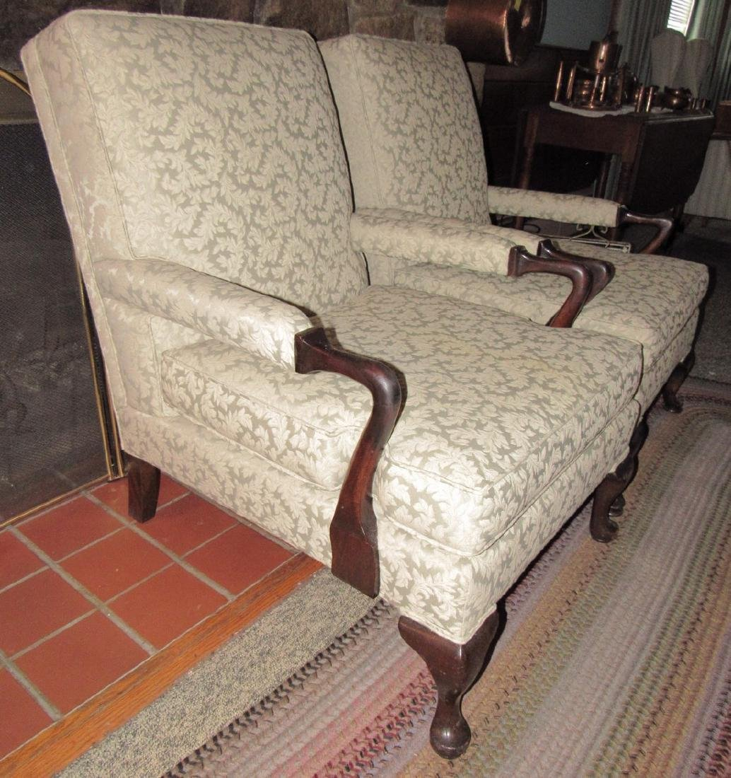Pair of 2 Arm Chairs - 2