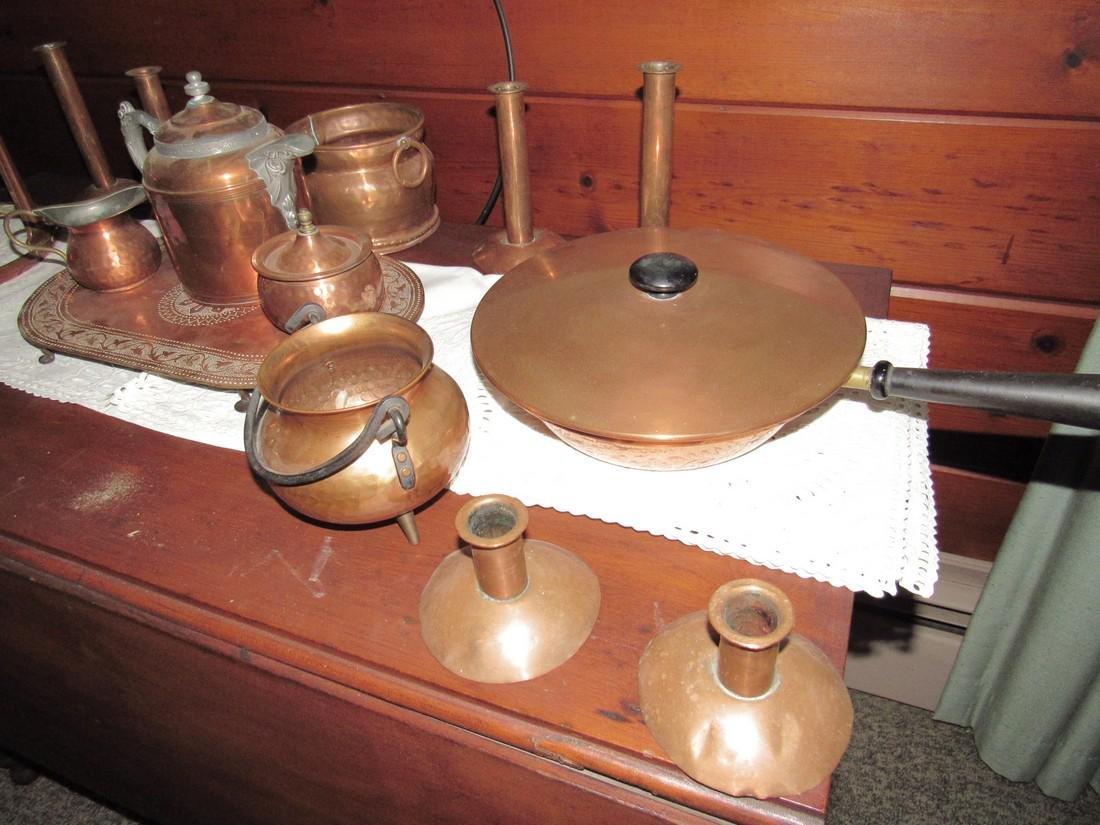 Copperware Lot - 4