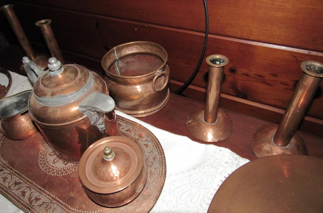 Copperware Lot - 5