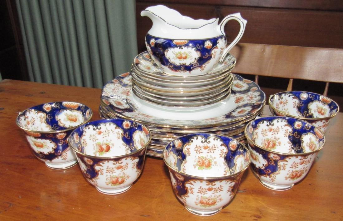 Royal Albert Bone China Tea Set Cups Saucers Creamer
