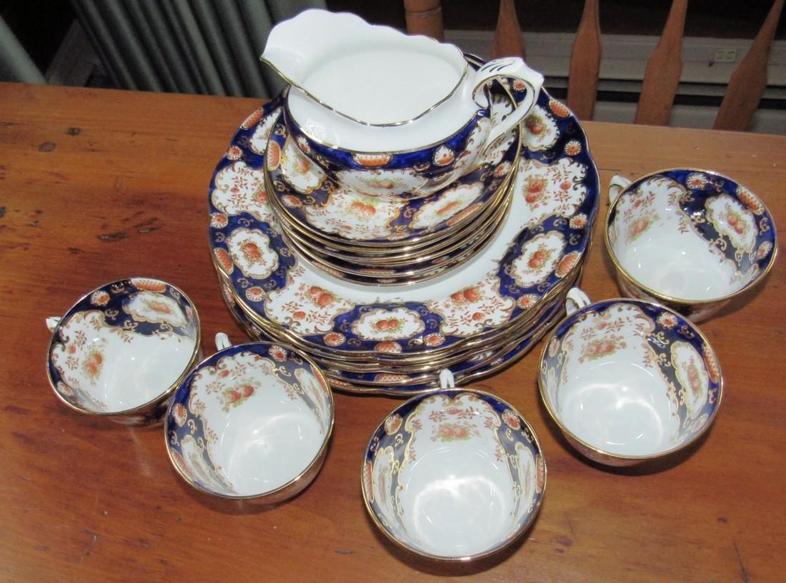 Royal Albert Bone China Tea Set Cups Saucers Creamer - 2