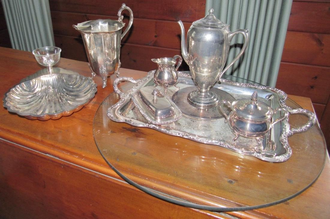 Misc Silverplate including Newport