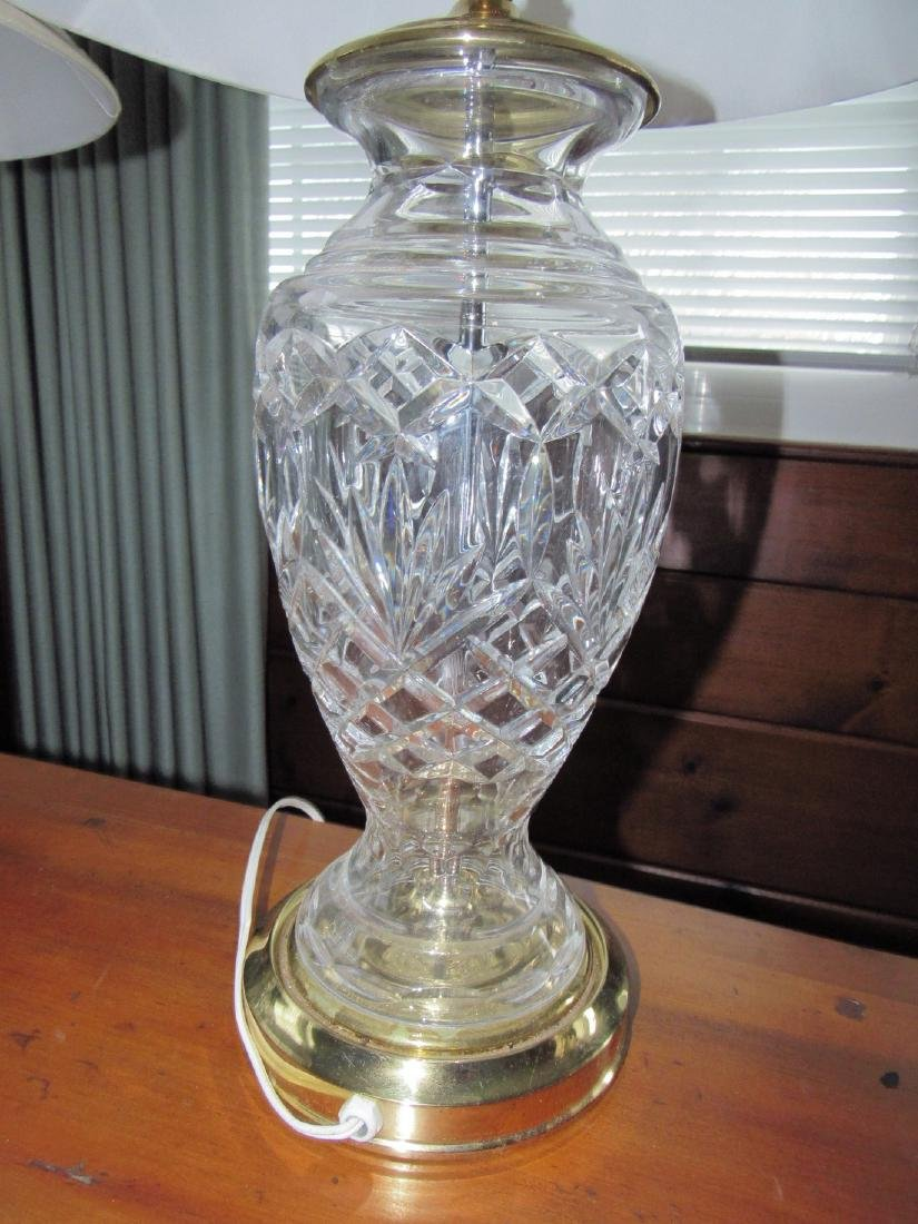 Pair of Glass Table Lamps - 2