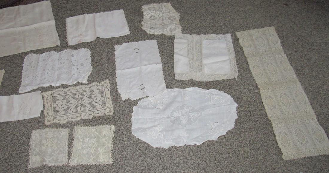 Linens Doilies Table Clothes Runners - 2