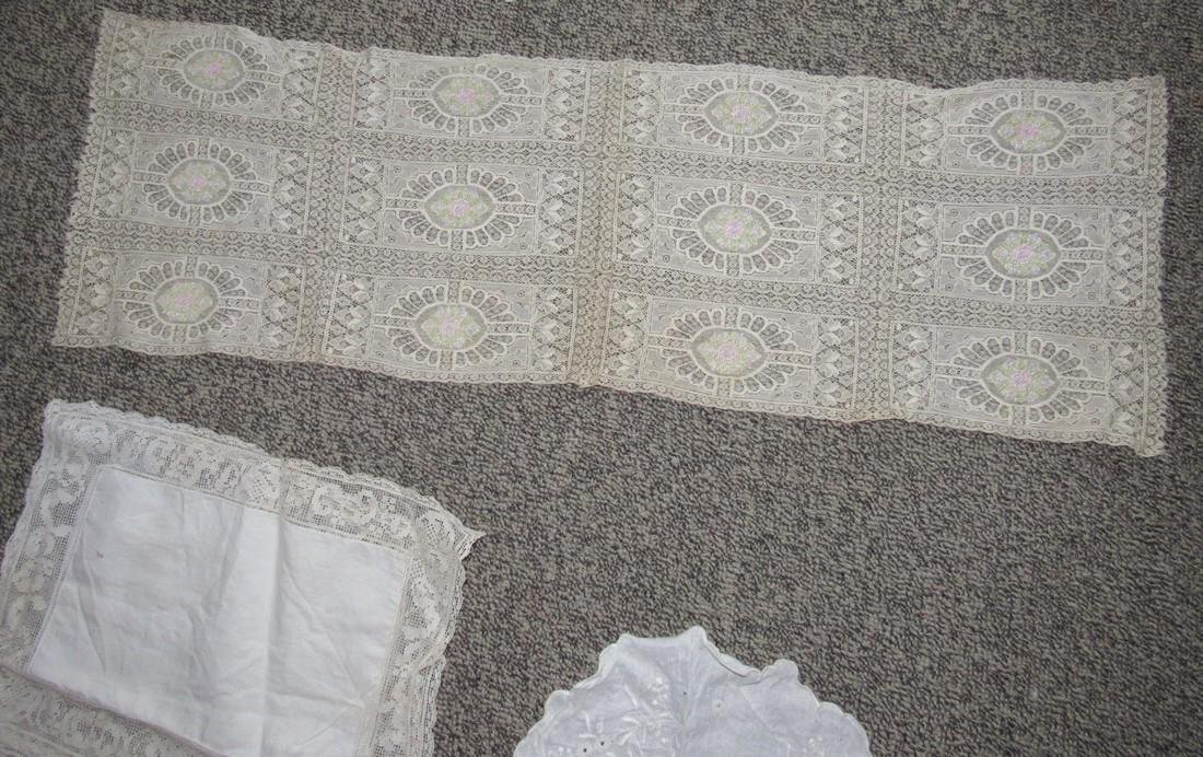 Linens Doilies Table Clothes Runners - 3