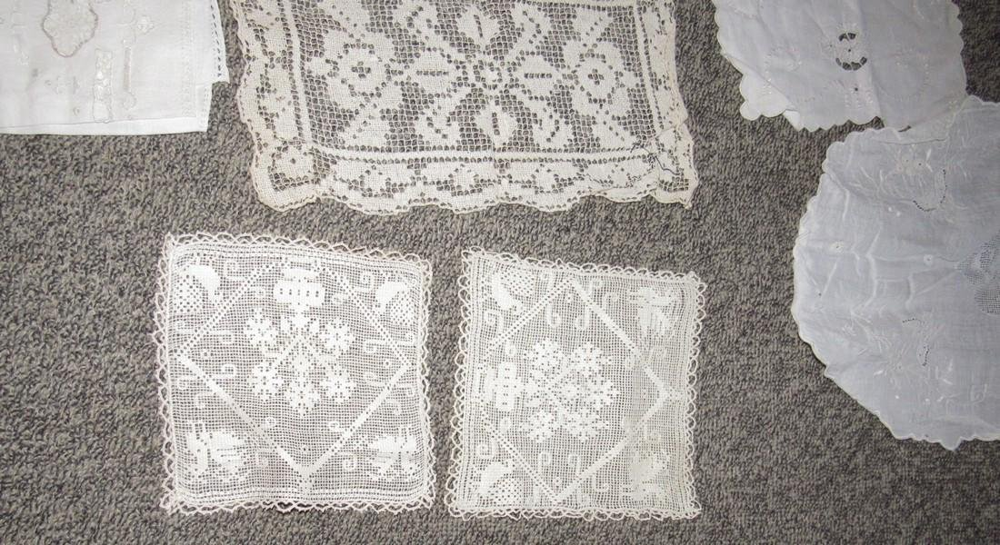 Linens Doilies Table Clothes Runners - 4