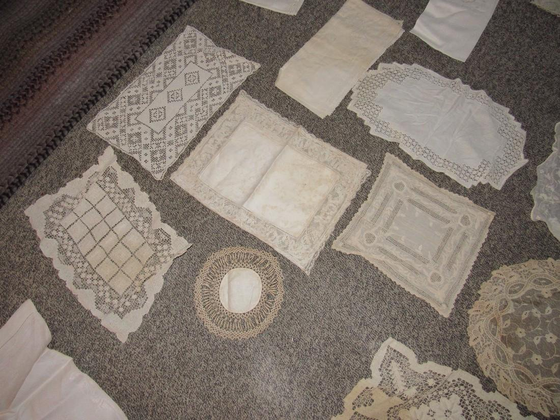 Linens Doilies Table Clothes Runners - 5