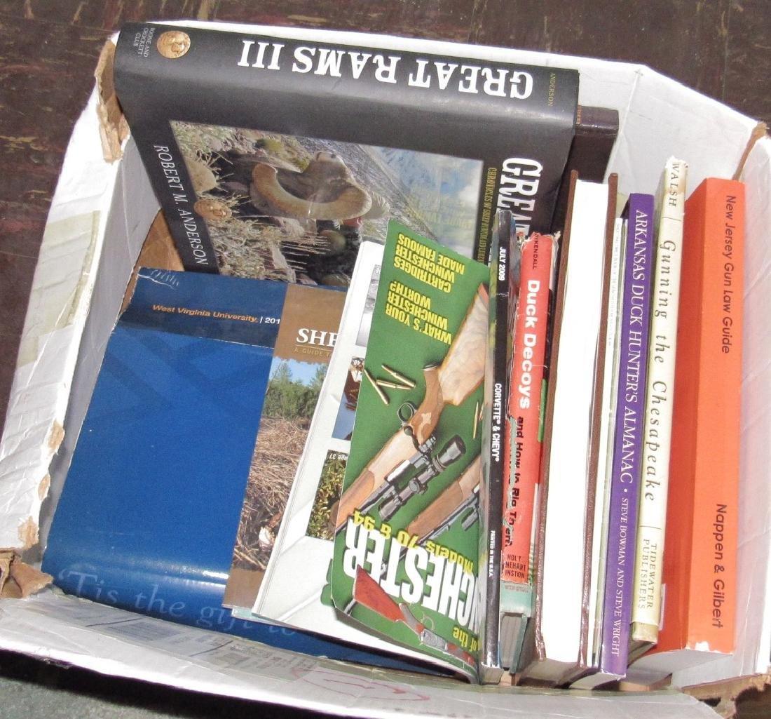 Hunting & Gun Books including Model 70 Winchester