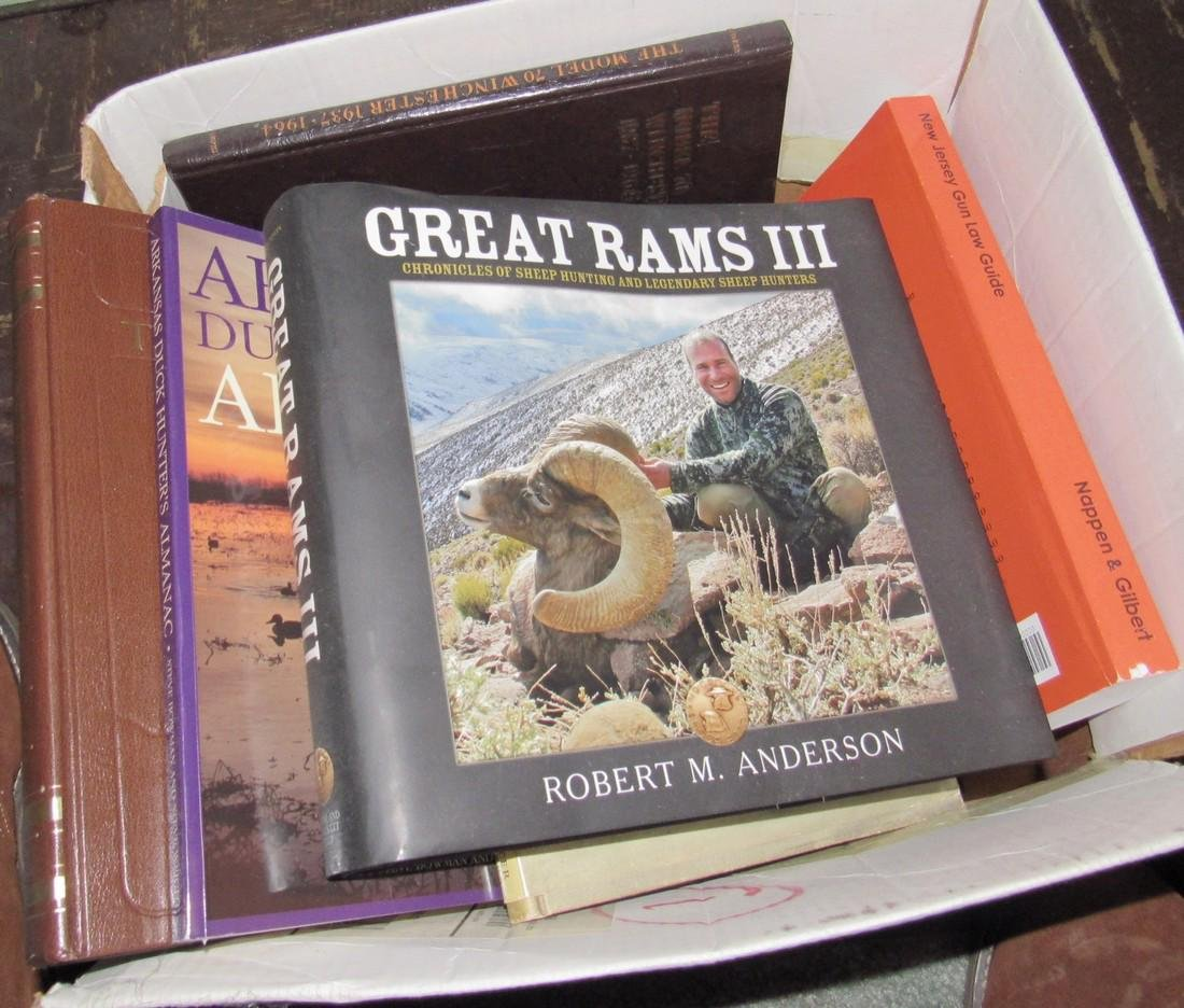 Hunting & Gun Books including Model 70 Winchester - 5