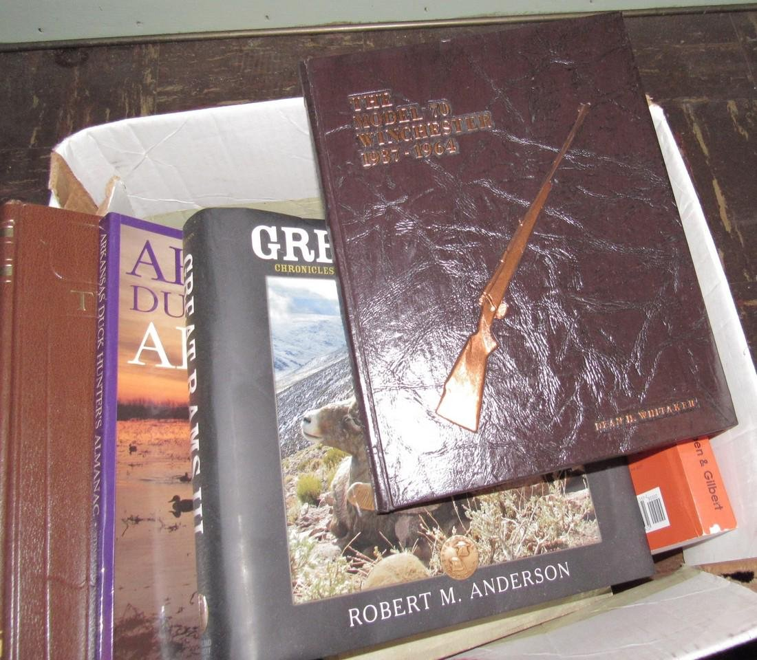 Hunting & Gun Books including Model 70 Winchester - 6