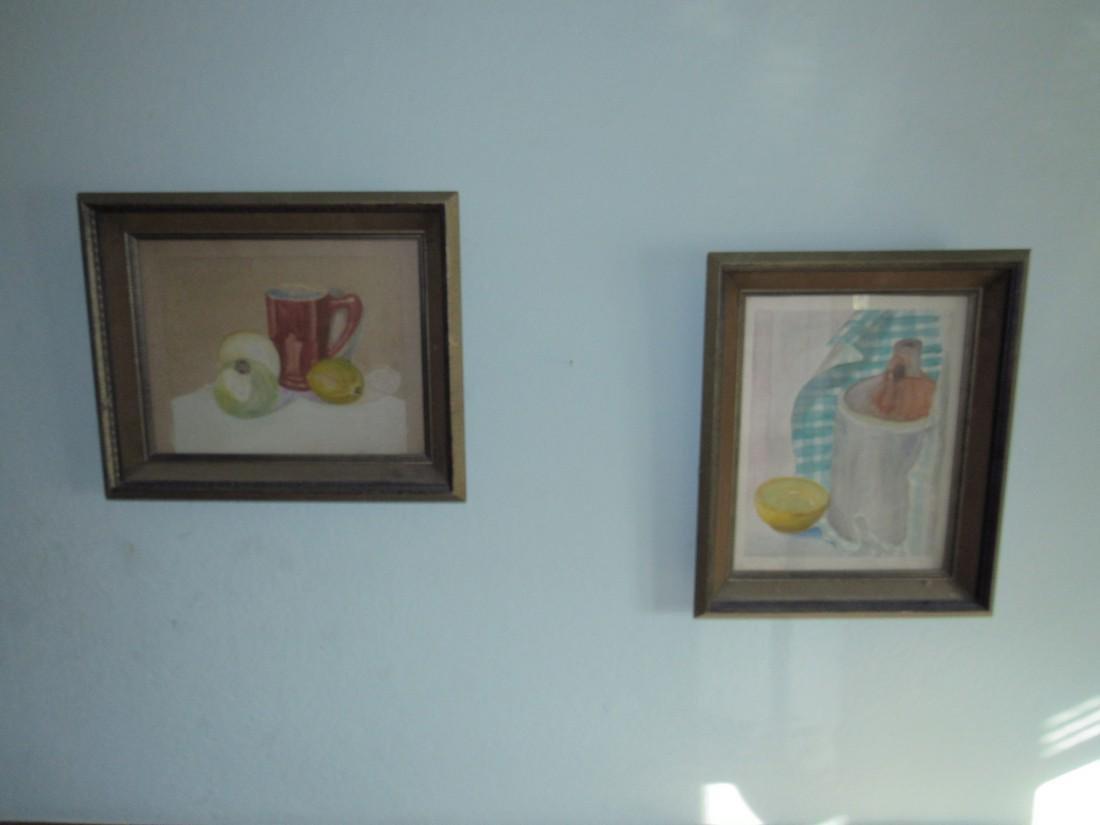 2 Watercolors Paintings